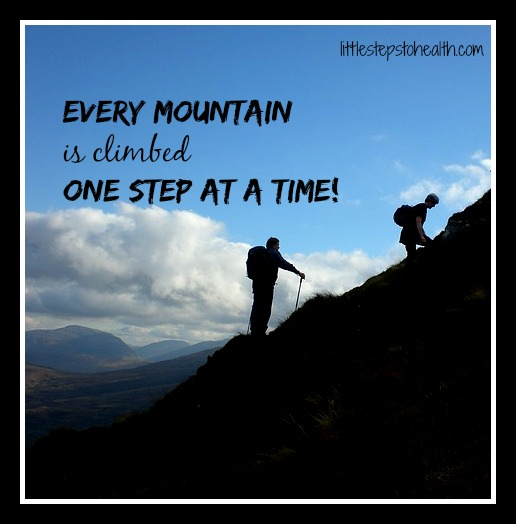 every mountain-one step